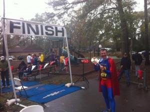 Marathon Man Texas Marathon Finish Line