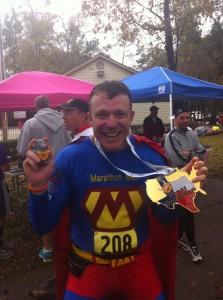 Marathon Man Texas Marathon Medal